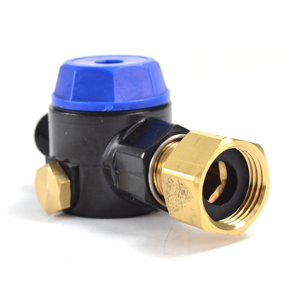 """3 //4/"""" Female NH x 1//2/"""" MNPT Interstate Pneumatics PW7204 Water Inlet Filter"""