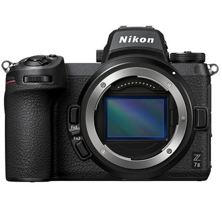 Nikon Z 7II FX-Format Mirrorless Camera Body Black (Internationam Model)