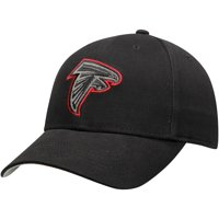 Youth Black Atlanta Falcons Basic Black Adjustable Hat - OSFA