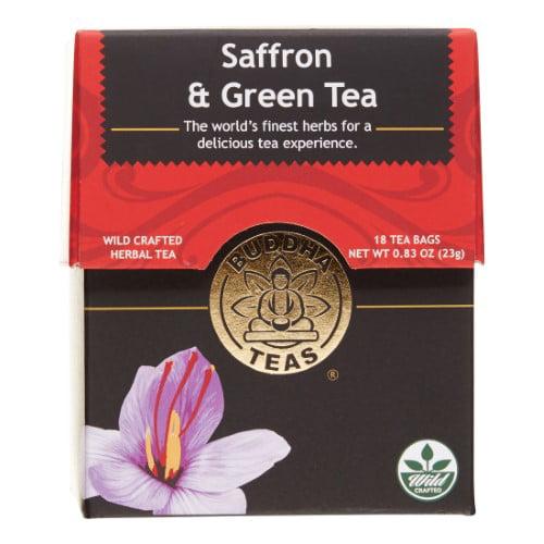 Buddha Teas Saffron Tea, 18 Ct by Chattanooga Bakery Inc