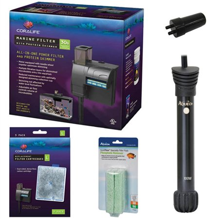 Coralife 30G Marine Filter with Protein Skimmer Ultimate