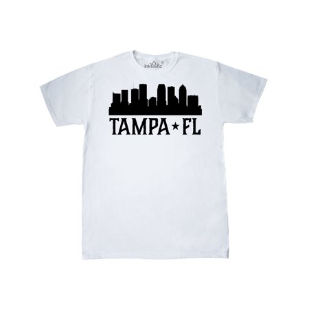 Tampa Florida City Skyline T-Shirt - Party City In Tampa Florida