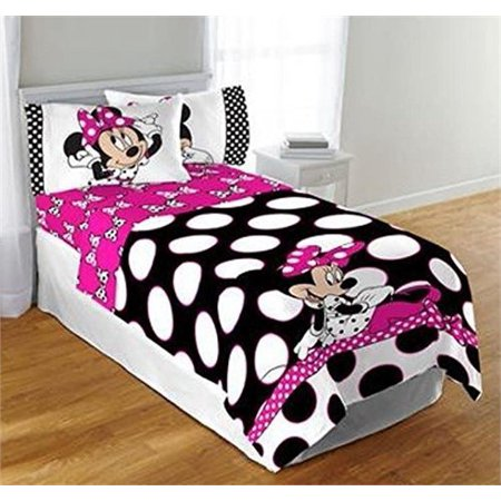 Disney Minnie Mouse Twin Full Polka Dot Comforter