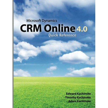 Microsoft Dynamics Crm Online 4 0 Quick Reference