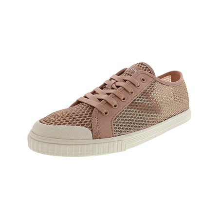 Bloch Glitter Shoes (Tretorn Women's Tournet Glitter Mesh Blush Multi / White Fabric Flat Shoe -)