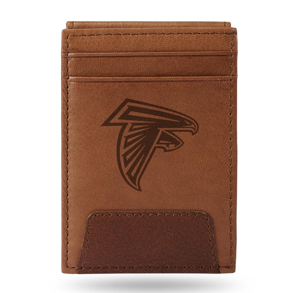 Atlanta Falcons Sparo Leather Front Pocket Wallet - No Size
