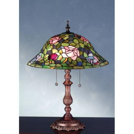 Meyda Tiffany 28406 Tiffany Two Light Table Lamp