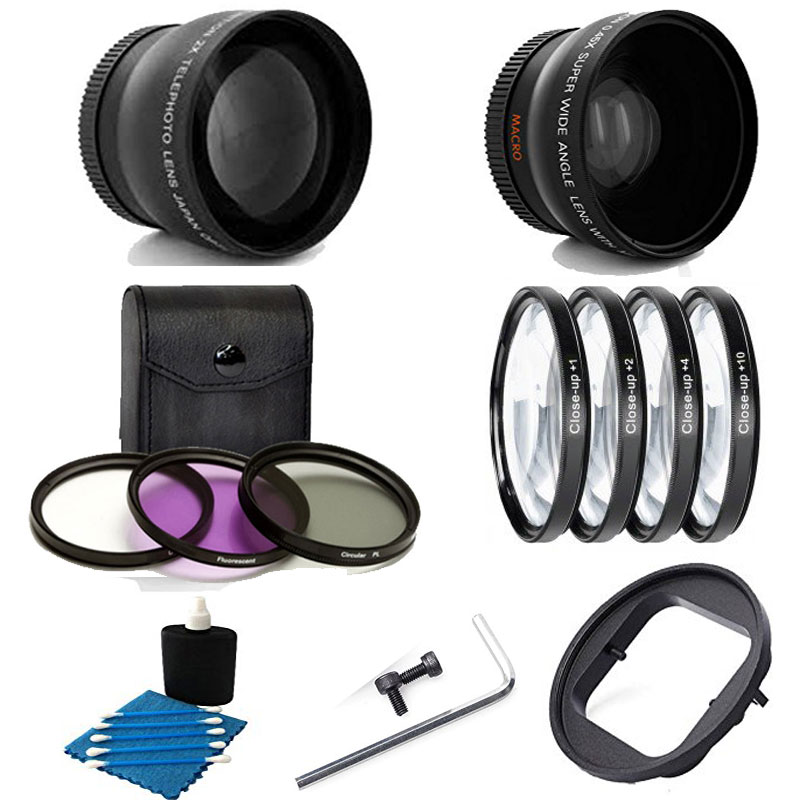 Xiaoyi Sport Cameras and Other Sport Cameras Dive Housing Ychaoya Lens Accessories 52mm Round Circle CPL Lens Filter for GoPro Hero 4//3+