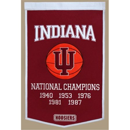 Winning Streak Sports 76080 Indiana  University of Banner - image 1 of 1