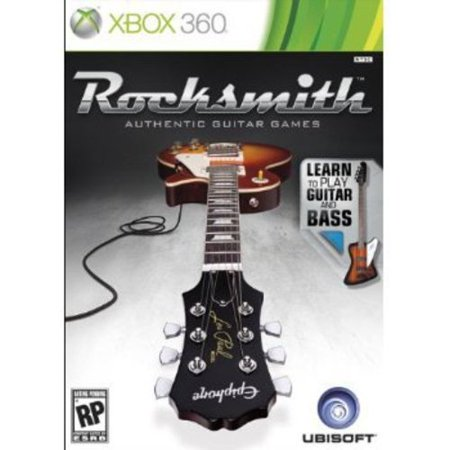 rocksmith guitar and bass xbox 360. Black Bedroom Furniture Sets. Home Design Ideas