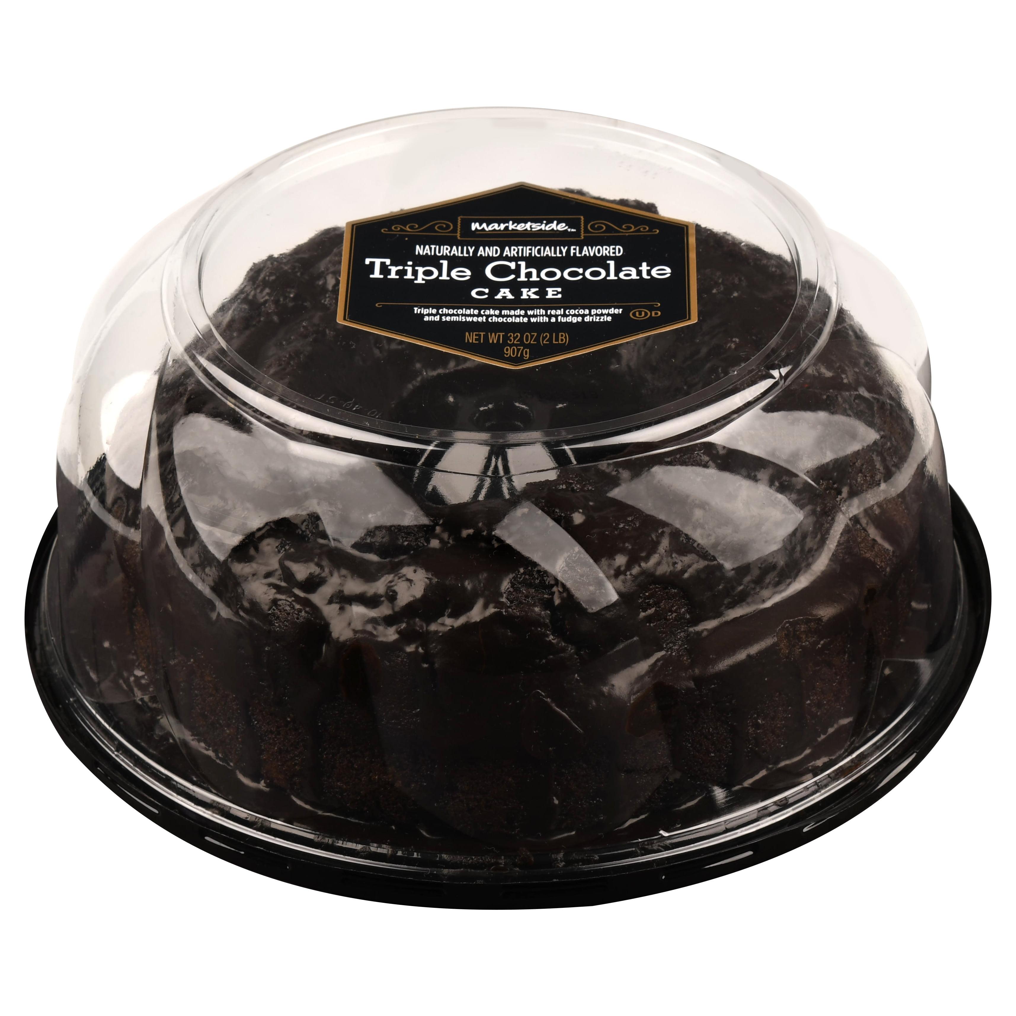 Marketside Triple Chocolate Cake 32 Oz