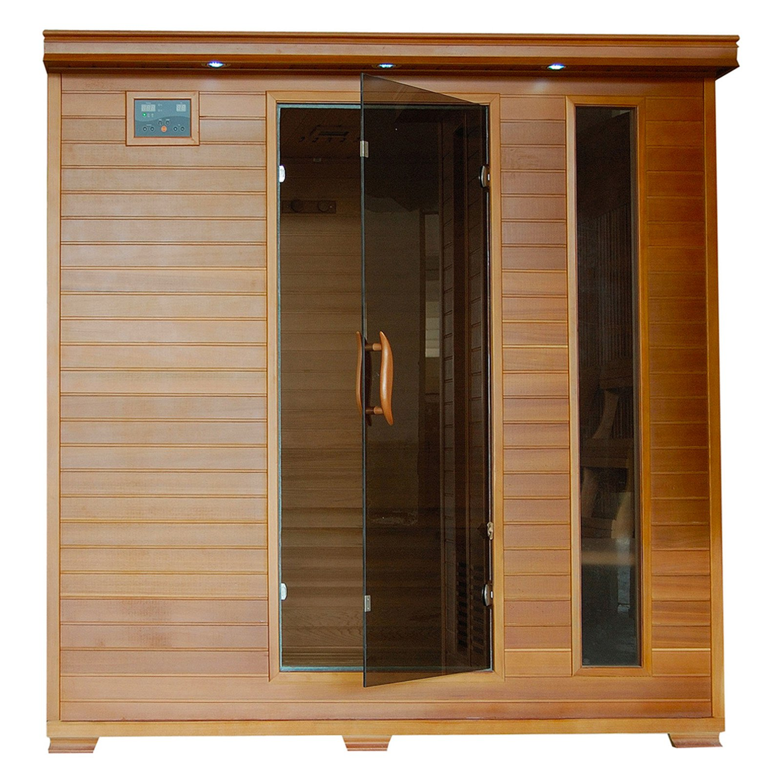 Radiant Sauna 6 Person Cedar Infrared Sauna by Blue Wave Products Inc