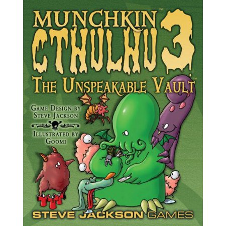 Munchkin Cthulhu 3 Unspeaka Vault  Rev   Multi Colored