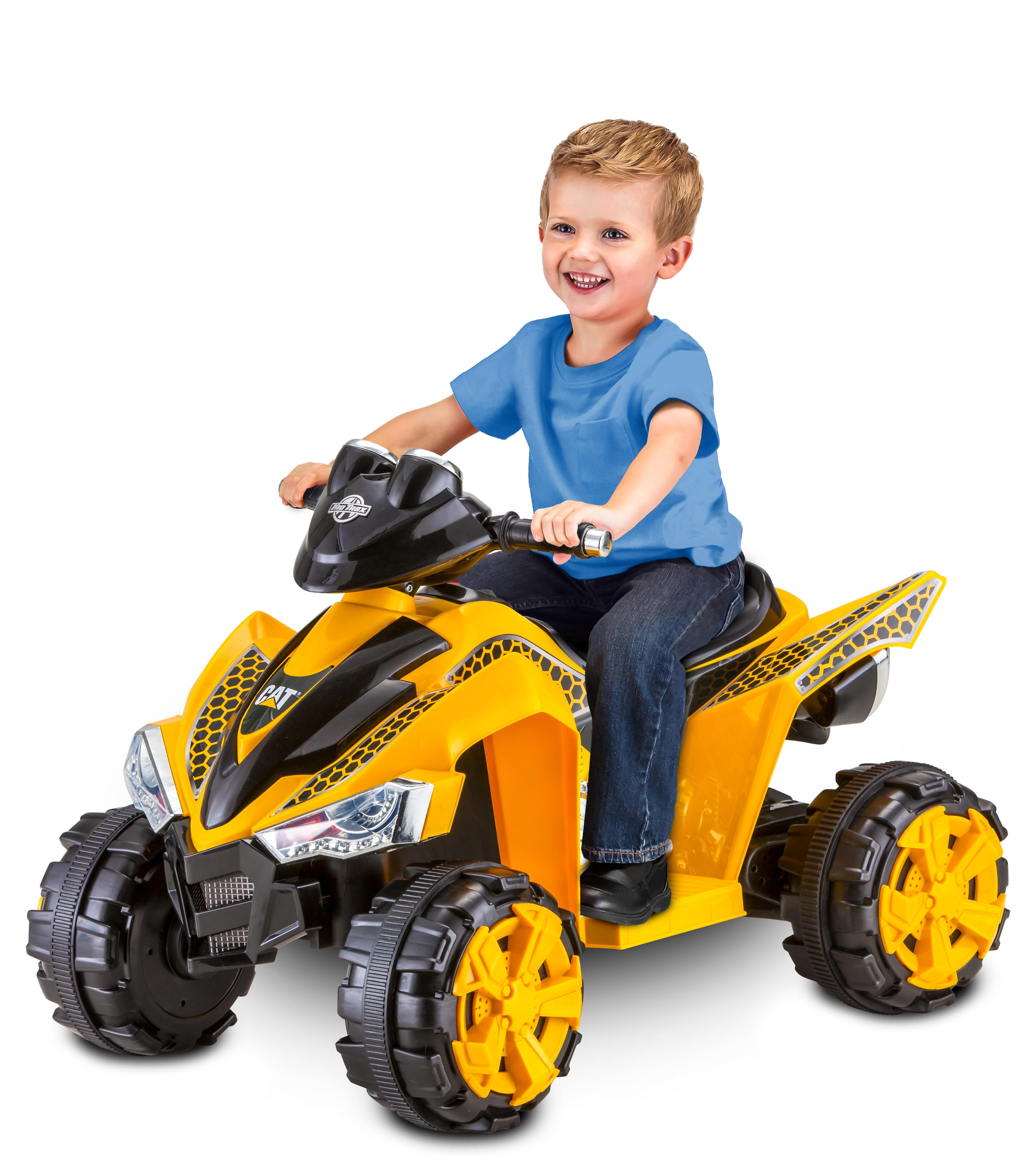 Kid Trax CAT 6V Battery Powered ATV, Yellow