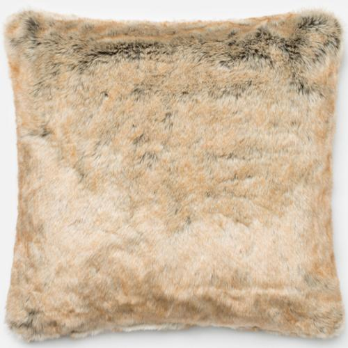 Alexander Home Faux Fur Beige Down Feather or Polyester Filled 22-inch Throw Pillow or... by Overstock
