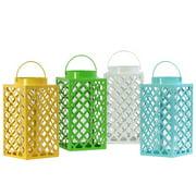Urban Trends Metal Lantern (Set of 4)