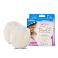 Dr. Brown's Rachel's Remedy Natural Breast Relief Packs for Breastfeeding & Nipple Pain, Mastitis & Clogged Duct Treatment, Increase Milk Supply 2 Count