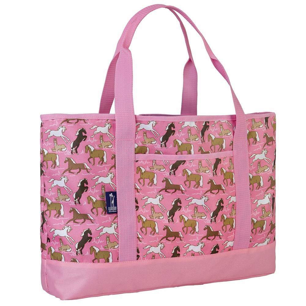 Horses in Pink Tote-All