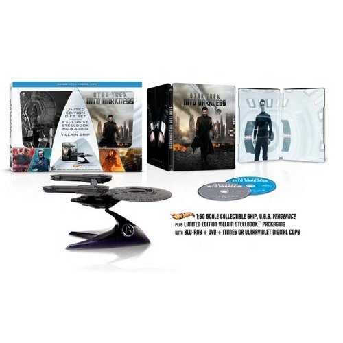 Star Trek: Into Darkness  (Blu-ray + DVD + Digital Copy + Villain Ship) (Walmart Exclusive) (With INSTAWATCH) (Widescreen)