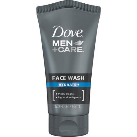 Dove Men+Care Hydrate + Face Wash, 5 fl oz