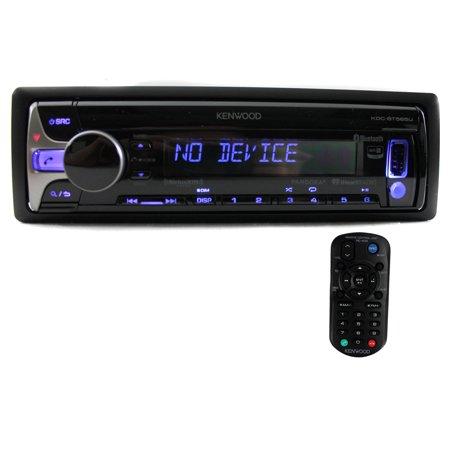 Kenwood KDC-BT565U Single-DIN In-Dash CD Receiver with Bluetooth, Siri Eyes-Free, Pandora Internet Radio and SiriusXM Ready (Kenwood Stereo Receivers For Home)