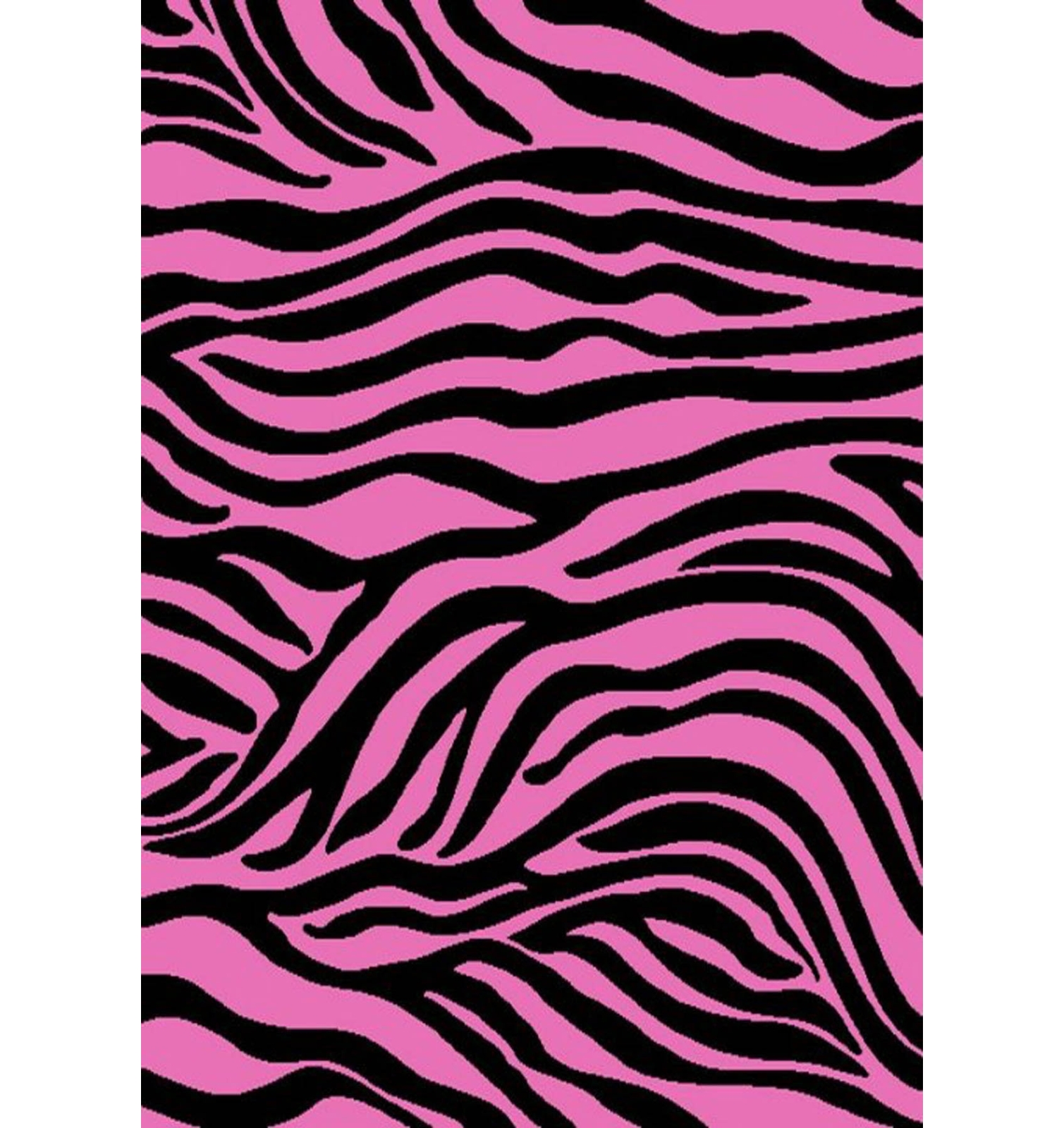 Concord Global Trading Alisa Collection Zebra Area Rug