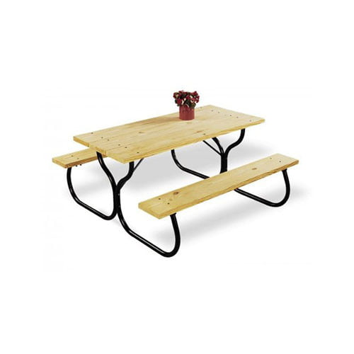 WORLDWIDE SOURCING FC-30 BLACK PICNIC TABLE FRAME KIT by Worldwide Sourcing