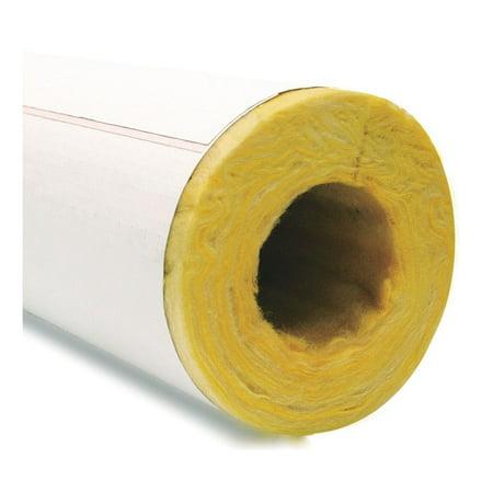 Pipe Insulation  Fiberglass  3 16 In Id