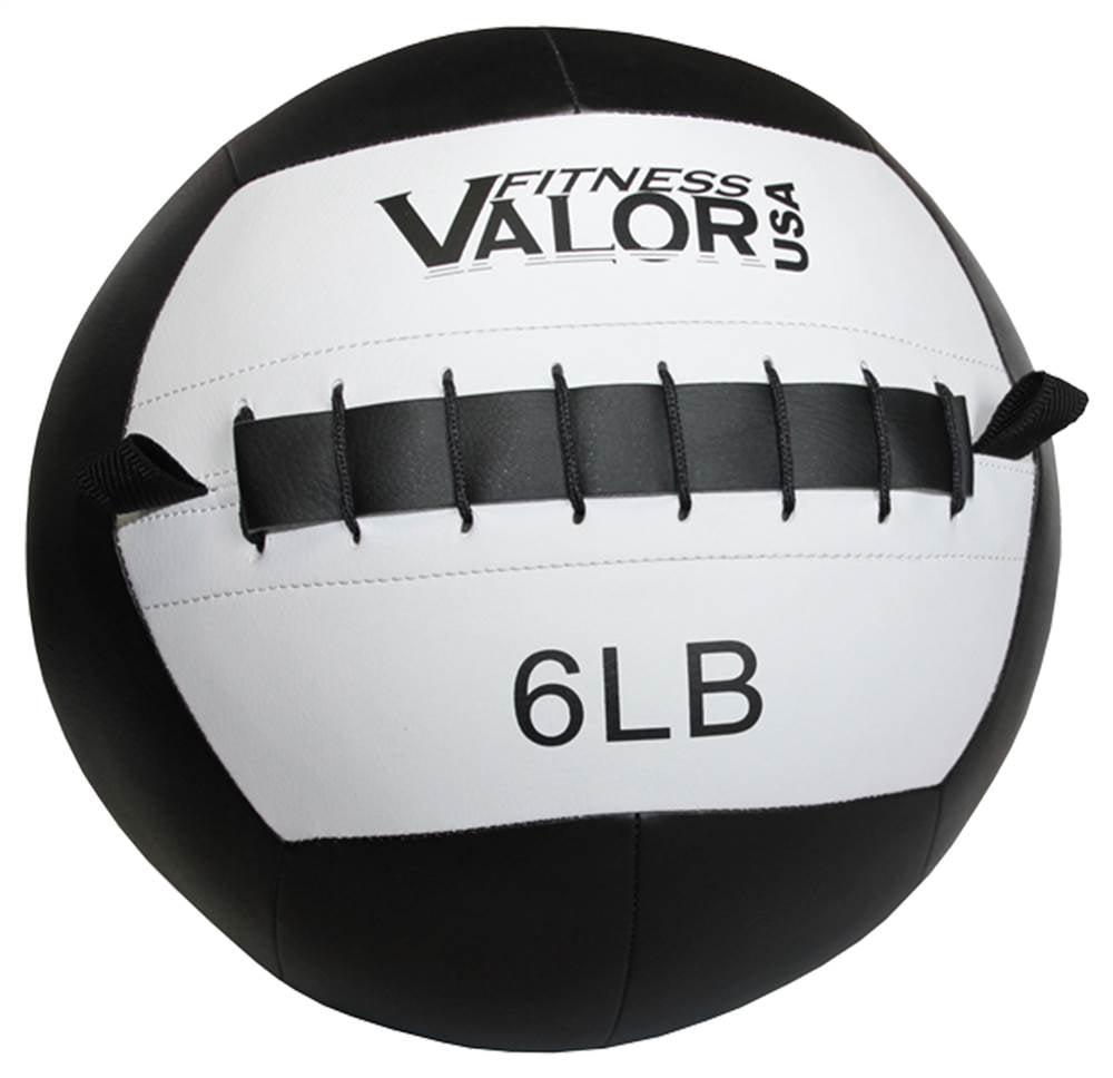 6 lbs. Wall Ball in Black