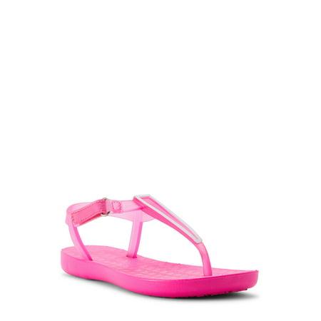 Wonder Nation Pink Pop Jelly Strap Sandal (Little Girls & Big Girls) Naturino Pink Sandals