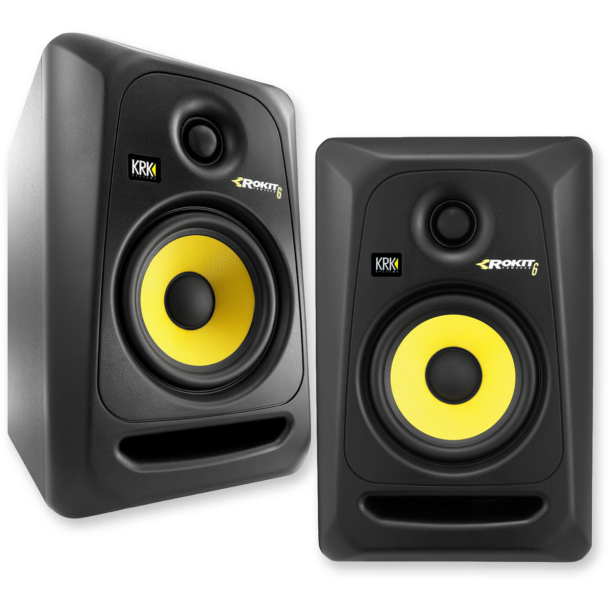 KRK RP6G3 Rokit 6 Generation 3 Powered Studio Monitor - Pair