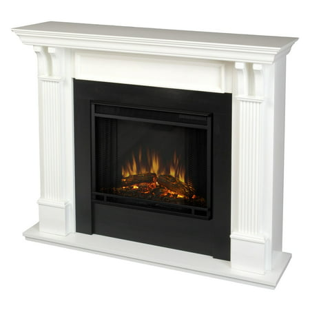 Free Shipping. Buy Real Flame Ashley Indoor Electric Fireplace - White at Walmart.com