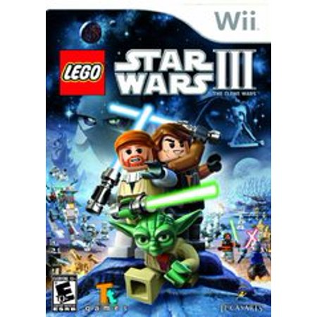 LEGO Star Wars III The Clone Wars - Nintendo Wii (Refurbished) ()