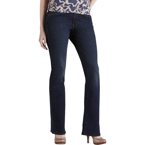 Women's Totally Slimming Mid Rise Bootcut Jeans