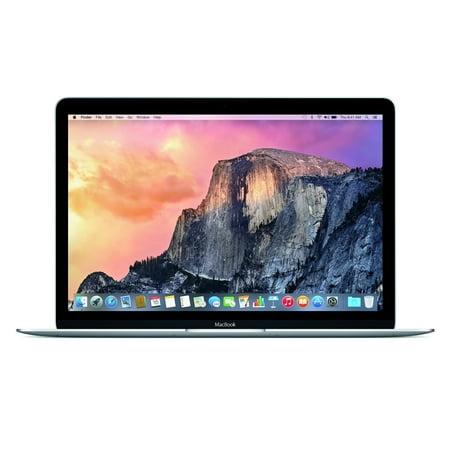 Apple MacBook MJY32LL/A Intel Core M-5Y31 X2 1.1GHz 8GB 256GB, Dark Gray (Scratch And Dent