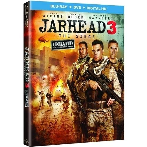Jarhead 3: The Siege (Unrated) (Blu-ray   DVD   Digital HD) (With INSTAWATCH)