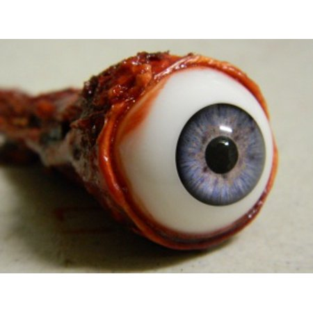 Life size Realistic Ripped Out Eyeball Halloween Prop - - Halloween Ost