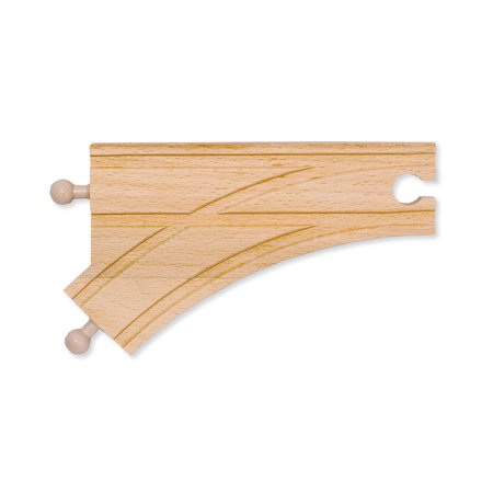 """6"""" Curved Switch Track - Male"""
