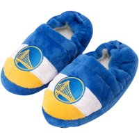 Golden State Warriors Toddler Color Block Close Back Slippers