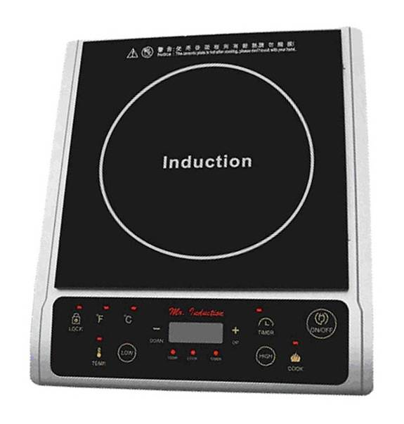 Countertop Induction w LED Panel (Black)