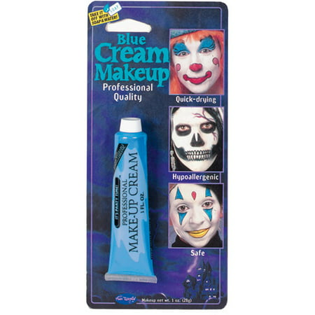 Pro Blue Makeup Tube Adult Halloween - Blue Body Paint Halloween