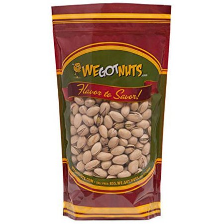 Salted California Pistachios - We Got Nuts Salted Roasted California Pistachios, 7 lbs