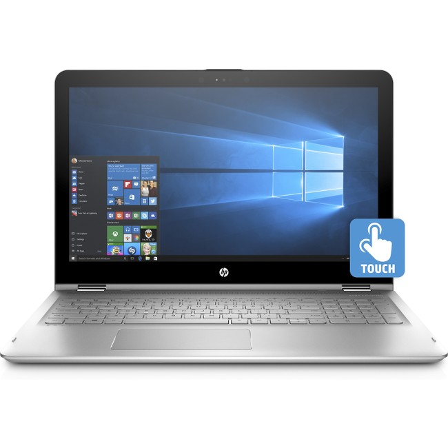 "HP ENVY x360 15.6"" Touchscreen Laptop i7-7500U 8GB 256GB SSD W10 Refurbished"