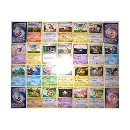 110 Bulk Collectible Pokemon Cards Party Favors - Pokemon Party Supplies