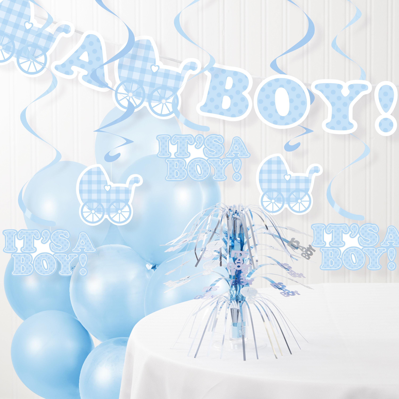 It S A Boy Baby Shower Decorations Kit Walmart Com Walmart Com