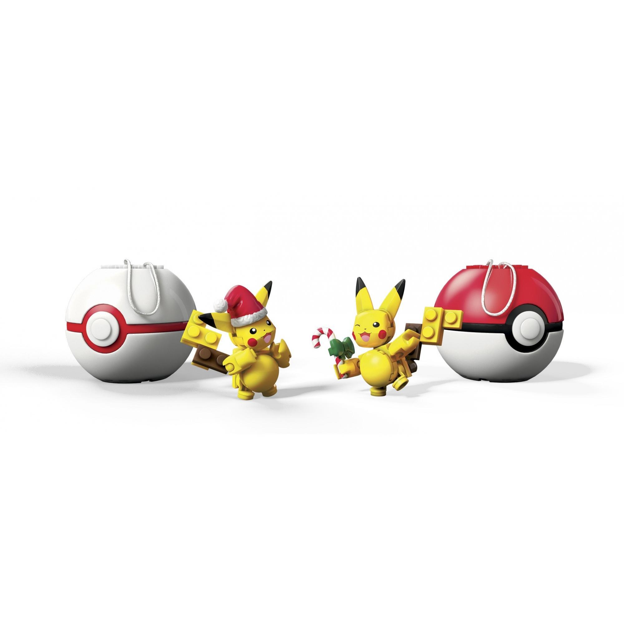 Mega Construx Pokemon Holiday Poke Balls Assortment