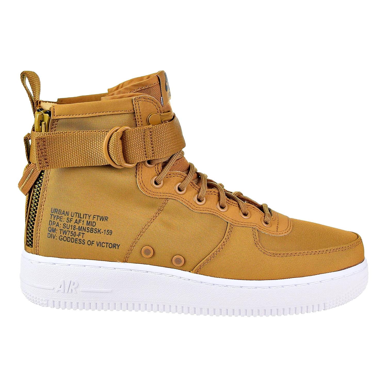 Men's/Women's : Nike SF Air Force Desert 1 Mid Men's Shoes Desert Force Ochre/Sequola-White 917753-700 : Outstanding Stretch 8ff736