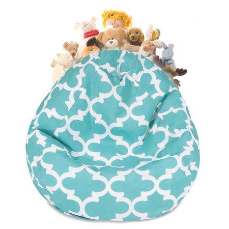 Fantastic Harriet Bee Stuffed Animal Toy Storage Bean Bag Chair Forskolin Free Trial Chair Design Images Forskolin Free Trialorg