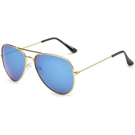 Aviator Sunglasses with Metal frame