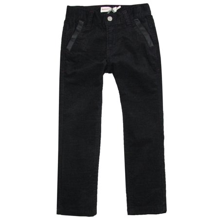 Deux par Deux Boys' Velvet Pants Call Me Mister, Sizes 18M-10 - 3 - image 2 of 2